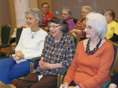 halloween costume retirement community audience female2