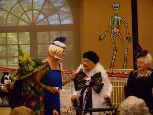 halloween costume retirement community contest